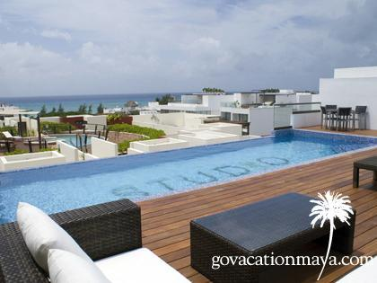 STUDIO ONE, 2 BEDROOMS, OCEAN VIEW TERRACE! PLAYA - Image 1 - Playa del Carmen - rentals