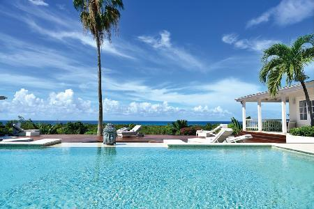 Clair De Lune - Popular villa with vibrant garden, pool & close to beaches - Image 1 - Terres Basses - rentals