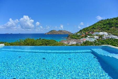New Matajagui villa with heated infinity pool, daily maid & walk to beach - Image 1 - Flamands - rentals