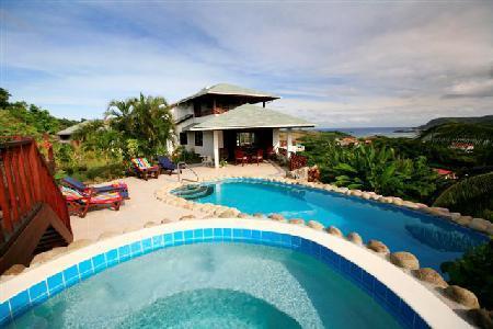 Villa Cadasse - Hilltop villa with spectacular views, pool & Jacuzzi - Image 1 - Cap Estate - rentals
