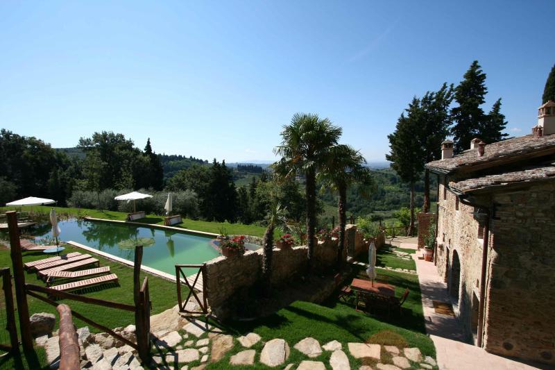 Paluffo Estate Forno house self catering apartment - Image 1 - Certaldo - rentals
