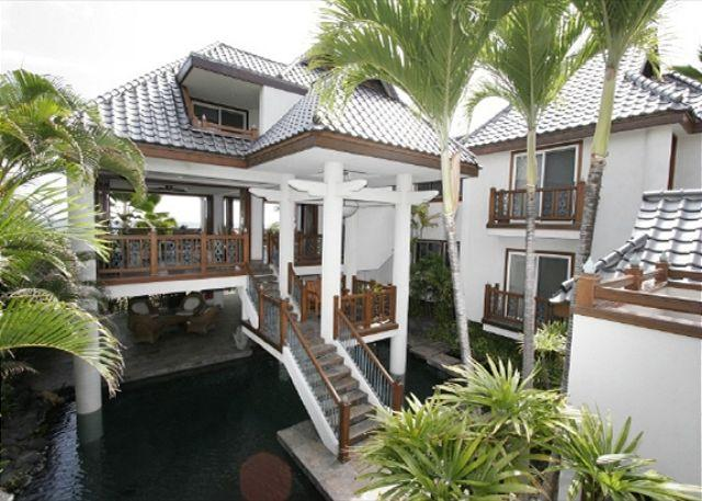 OceanFront Home in a Gated Community in Kona Bay Estates #19-PHKBE19 - Image 1 - Kailua-Kona - rentals
