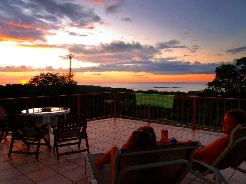 The observation deck - Casa Bambora  Fully Equipped Oceanview Studio Apt. - Tamarindo - rentals