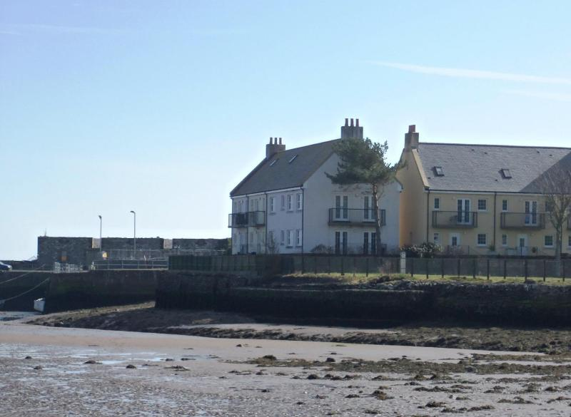 Water's Edge from the village - Tide's Reach - Harbourside holidays in SW Scotland - Garlieston - rentals