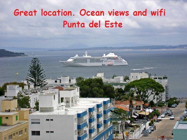 Ocean view Punta del Este - Increible vista al mar. Centro de la ciudad.08 - Punta del Este - rentals