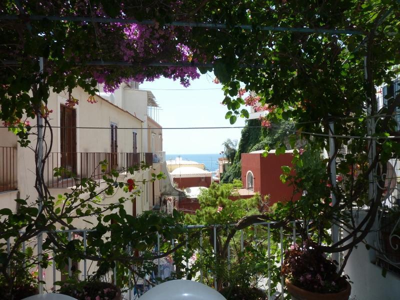 View from terrace - Casa Lara - Positano - rentals