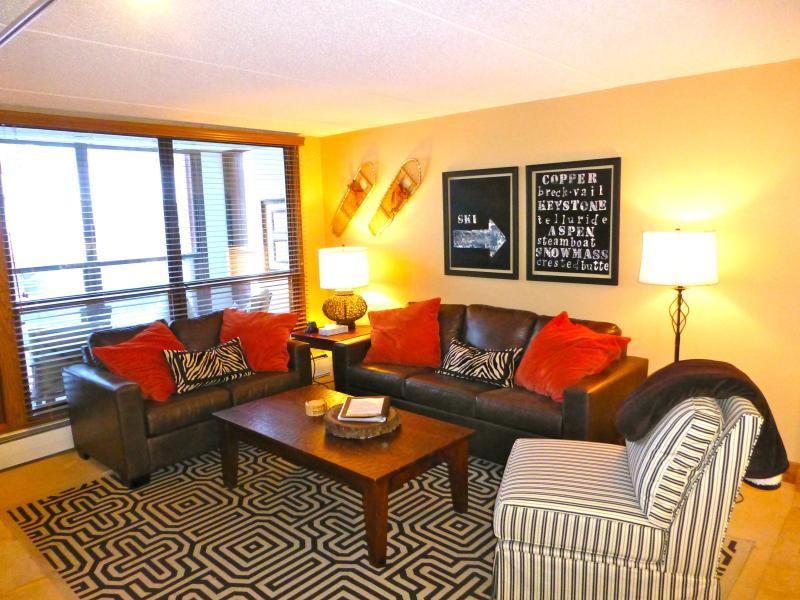 Family Room - True Luxury-Ski In/Out,Center Village, Ft to Lifts - Copper Mountain - rentals
