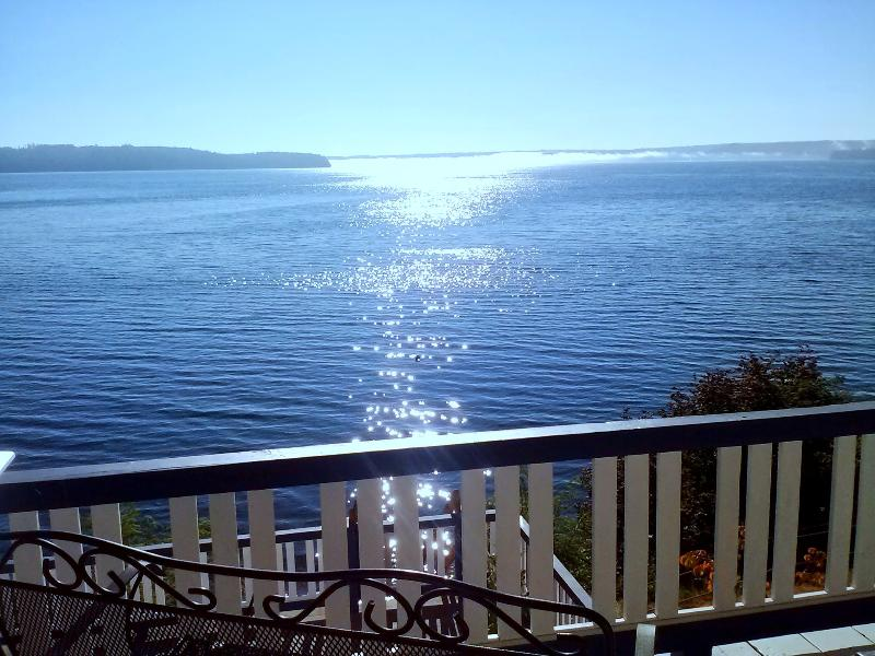 Covered built in balcony w/ rain or shine unobstructed views..a photographer's playground - ROMANTIC HOOD CANAL+OLYMPIC NT PK..SEATTLE 90 min! - Olympic National Park - rentals