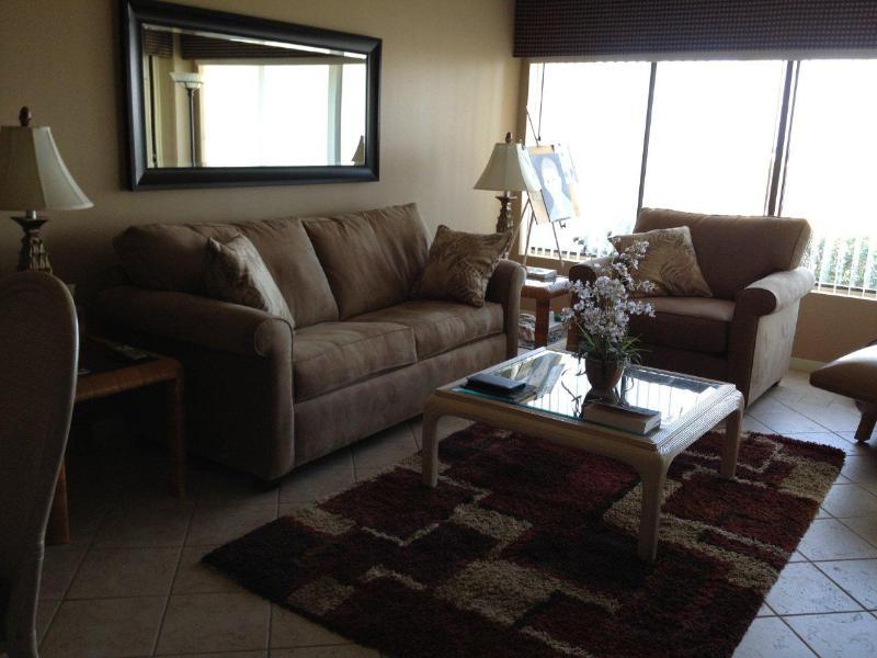 Living room - Amelia Island Surf & Racquet -Free WiFi-near Ritz - Amelia Island - rentals