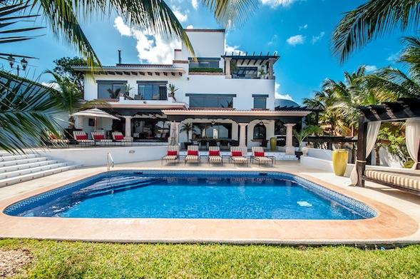 The Villa - Ocean Front Mansion in Cancun - Cancun - rentals
