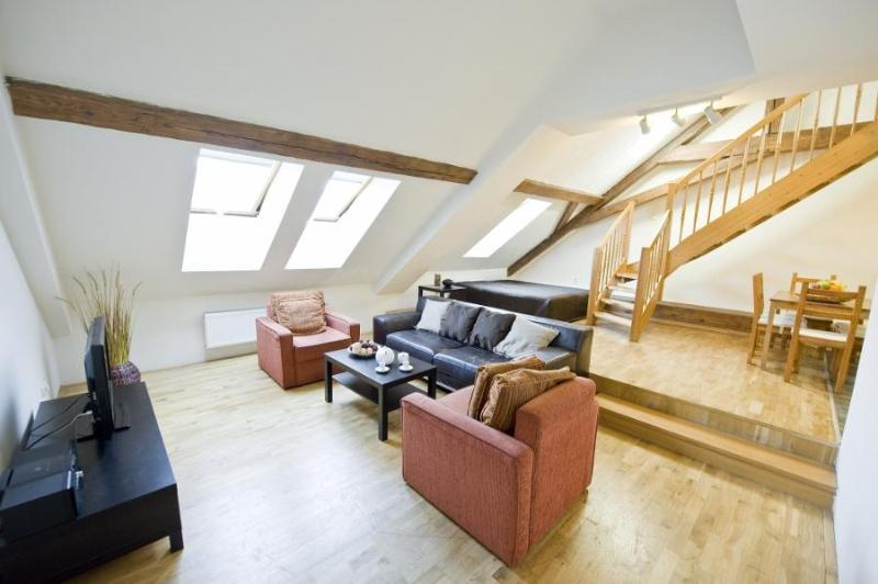 Spacious Attic Two Levels  Apartment with two BR - Image 1 - Prague - rentals