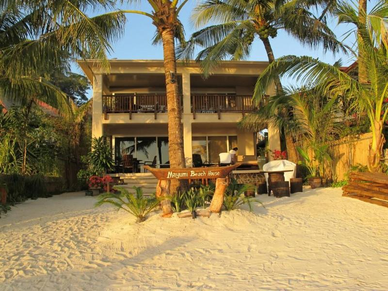 Facade - Day Time - Mayumi Beach House - Boracay - rentals