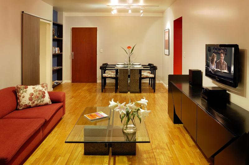 Caption for Living room to entrance - Great location Recoleta, free wifi - Buenos Aires - rentals