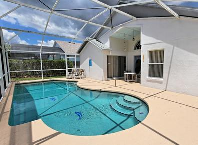 Private Pool with Pool Deck - Davenport Lakes Villa - Davenport - rentals