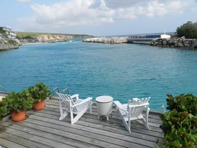 Blue Lagoon view from the private deck - Blue Lagoon (no Bolivares, cash) - Willemstad - rentals