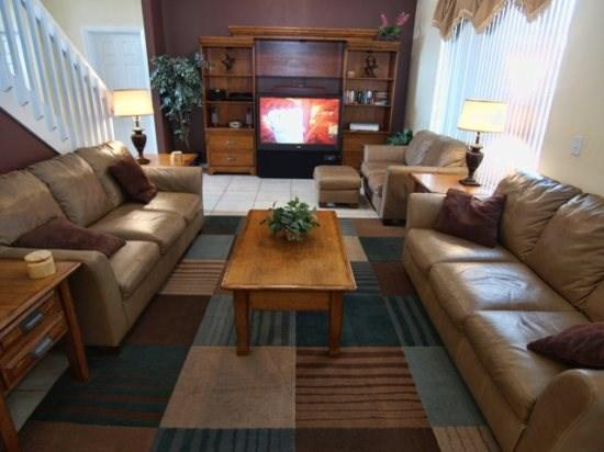 Living Area - CL7P2516CLC 7 BR Cozy Pool Home with Amenities Galore - Orlando - rentals