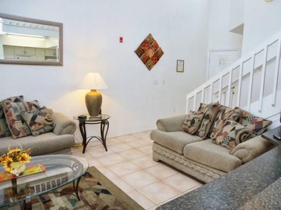 Living Area and Family Room in Mango Key - MK2T3156TC-9 2 BR Town Home Near Disney Hot Deal Special - Orlando - rentals