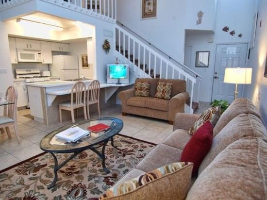Living Area - MK2T3165TC-27 2 BR Budget Town House With A Conservation View - Orlando - rentals