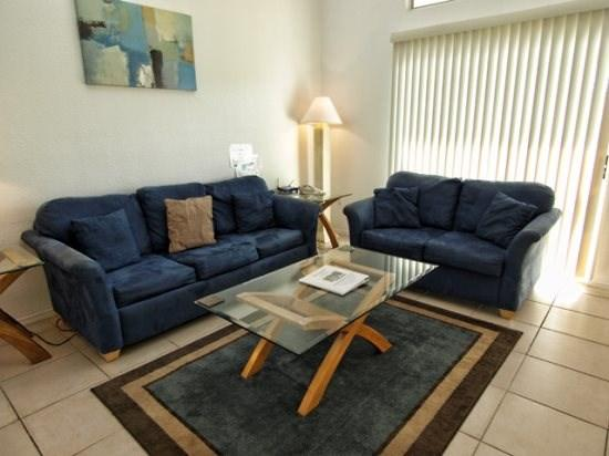 Living Area  - MK2T8702PD-2 2 BR Dream Town Home Close to Clubhouse - Orlando - rentals