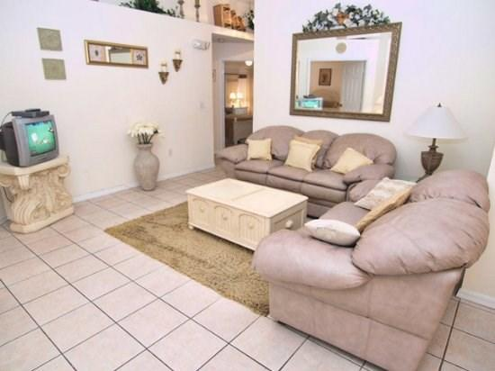 Living Area - BWC3P335DL 3 BR Orlando Vacation Home with TV`s in all Bedrooms - Orlando - rentals