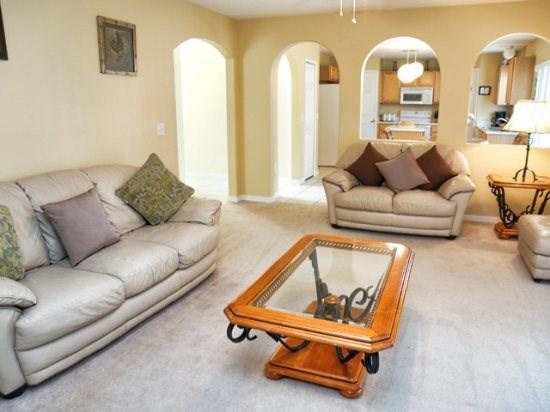 Living Area - LP4P523BA 4BR Affordable Pool Home Near Walt Disney - Orlando - rentals