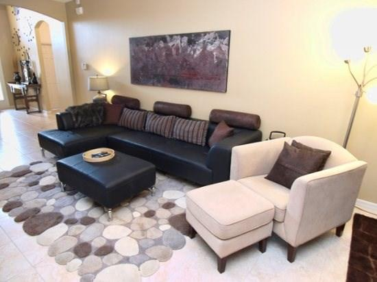 Living Area - CRC4P4704BDS 4 BR Modern Pool Home With A View - Orlando - rentals