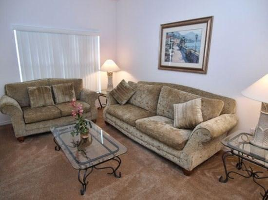 Living Area - CM5P4812CLD 5 BR Elegant Pool Home with a View - Orlando - rentals