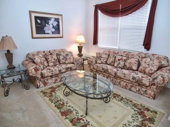 Living Area - WB5P348SRD 5 BR Pool Home with Great Amenities - Orlando - rentals