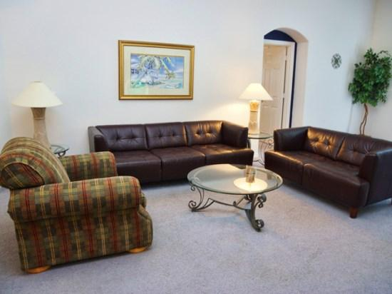 Living Area - IC5P2508OL 5 BR Marvelous Pool Home Great for Orlando Experience - Orlando - rentals