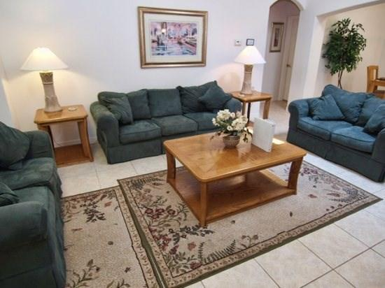 Living Area - OT5P15919HHS 5 BR Cozy Pool Home with a View Near Disney - Orlando - rentals