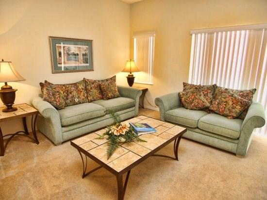 Living Area - TV3T107PBD 3BR Amazing Town Home Just 7 Miles from Disney - Orlando - rentals