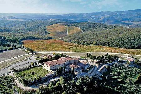 Award winnng Cavalcanti on 360 hectares of vineyards - Enjoy alfresco dining - Image 1 - Chianti - rentals
