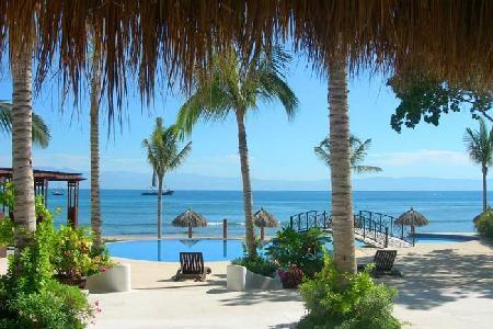 Beachfront Hacienda de Mita with exquisite beaches & access to several activities - Image 1 - Punta de Mita - rentals