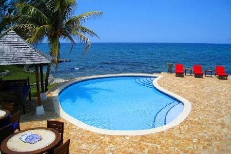 Waterfront Karma Bay at Tryall- fully staffed serene pavilions, near beach- golf - Image 1 - Montego Bay - rentals