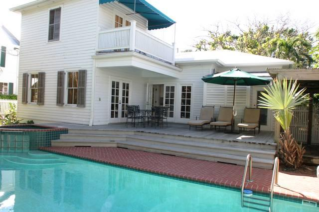 Pool Area - Truman House - Key West - rentals