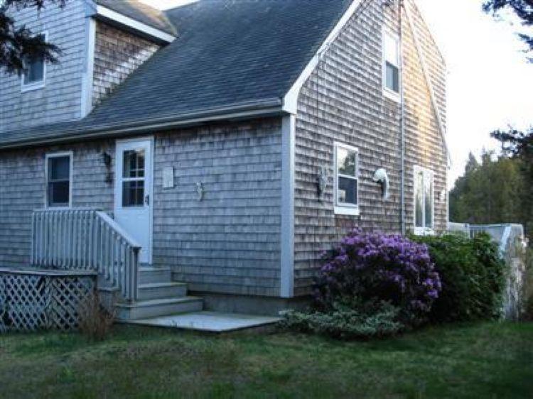 Side door entrance - 14 Benedict Rd - Bourne - rentals