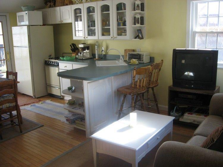 As you enter from front door - 53 Wood Ave - Sandwich - rentals