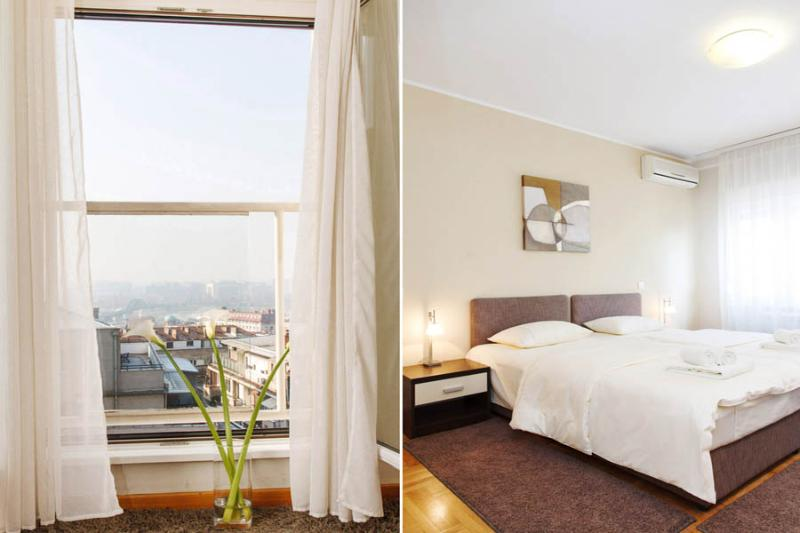 2 Bedroom CENTRAL Apt MOSCOW with a RIVER VIEW! - Image 1 - Belgrade - rentals