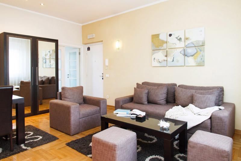 2 Bedroom Apartment SKADARLIJA Best deal-6 people - Image 1 - Belgrade - rentals