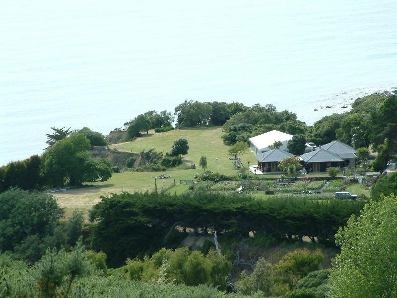 The Port and how it sits on the landscape - The Port - Cheviot - rentals
