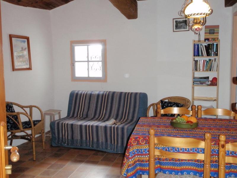 Living room - Cottage de la montee St Roch - Tuchan - rentals