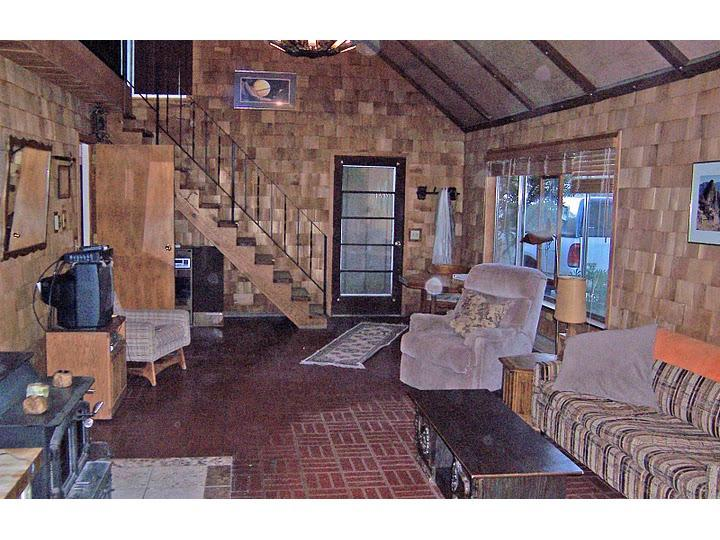 Living area (western view) - Kernville Rustic Vacation Cabin - Kernville - rentals