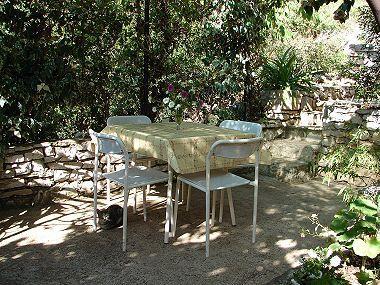 A1(4): garden terrace - 006-04-MAS A1(4) - Maslinica - Maslinica - rentals