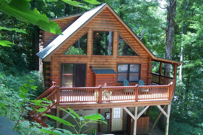 Tall Trees Cabin - Tall Trees mountain cabin come and enjoy the spring in the mountains - Maggie Valley - rentals