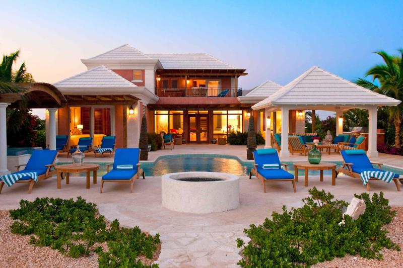 Villa La Percha at sunset - Private Paradise Just Steps to the Beach! - Providenciales - rentals