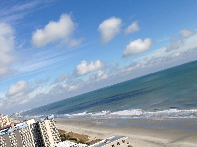 View from balcony looking north - Luxury 3 Bedroom Penthouse - Now Booking 2016 - Myrtle Beach - rentals