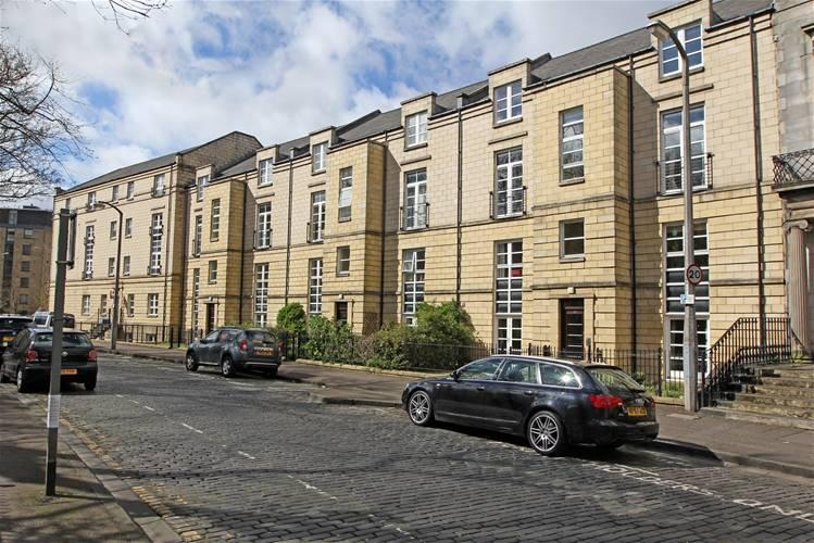 Hopetoun Crescent frontage - QUIET CITY CENTRE APARTMENT 2 with PARKING & Wi Fi - Edinburgh - rentals