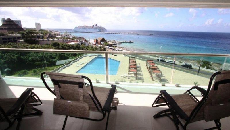 Beautiful view!! - Cozumel 2 Bd Ocean Views & Pool! (PA-6E)) - Cozumel - rentals
