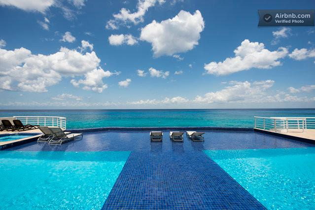 double sided pool - Caribbean Cozumel Condo - Cozumel - rentals