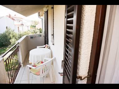 A3(2): balcony - 02506ROGO A3(2) - Rogoznica - Rogoznica - rentals